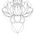 Lotus Realm - Modern Living Series - Etched Decal - For Shower Doors, Glass