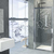 Rising Stars - Aquarius - Modern Living Series - Etched Decal - For Shower