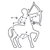 Rising Stars - Sagittarius - Modern Living Series - Etched Decal - For Shower