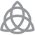 Triquetra - Modern Living Series - Etched Decal - For Shower Doors, Glass Doors