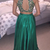 modest two pieces prom dresses emerald green beaded formal long evening