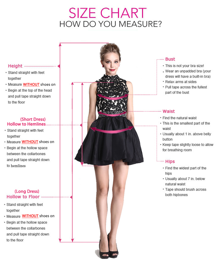 Unique A-line prom dress Fashion Formal Dress 2019