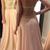 Halter Neckline Handmade Beaded Nude Prom Dress 2019