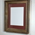 11x14  reclaimed wood picture frame with 8x10 brown  mat
