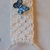Macrame towel holder, White towel holder, Bathroom accessory, Wall accessory,