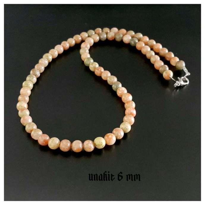 UNAKIT NECKLACE CHOKER Necklace for Men Women Men's Jewelry Men's Beaded
