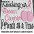Knocking Out Breast Cancer Awareness Quote Boxing Gloves crochet graphgan