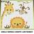 Baby Giraffe Monkey Lion Jungle Animals crochet graphgan blanket pattern; c2c,