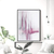 Pink and White Abstract Art, Large Downloadable Painting, Modern Abstract Print,