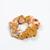 Scrunchie - Floral on Mustard