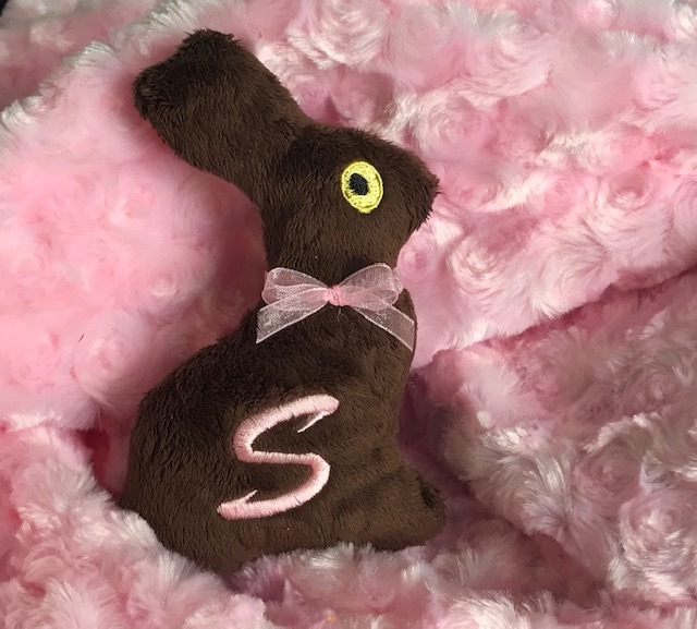 Chocolate Bunny-Dog Toy