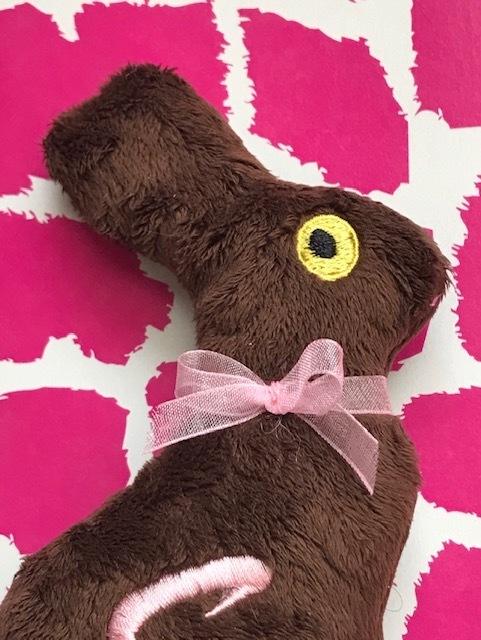 Chocolate Bunny-Dog Toy