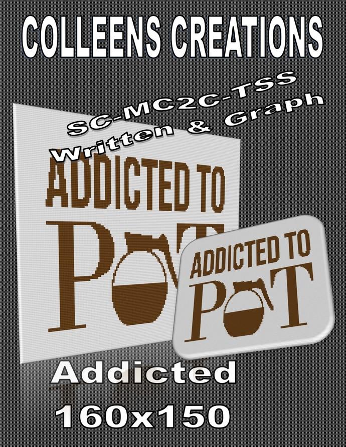 Addicted Crochet Written and Graph Design