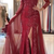 Charming Long Sleeve Mermaid Lace Evening Dress, Sexy Split Side Trumpet Formal