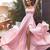 Sexy Elegant A-line Halter Long Pink Prom Dress with Side Slit