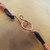 Apple Aura Crystal Quartz Pendant, Copper Wire Wrap