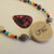 Friendship Necklace, Cherokee Language, Cornbead Jewelry