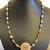 Friendship Necklace, Cherokee Language, Cornbead Jewelry