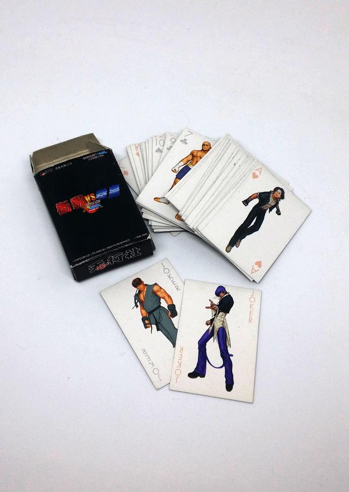 Street Fighter Vs King Of Fighter (CAPCOM VS SNK) Mini Playing Cards - Hong Kong
