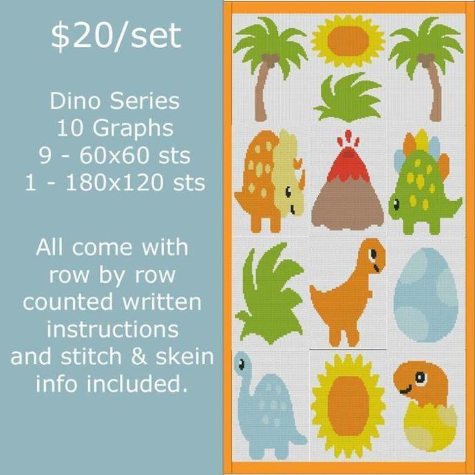 Dino Series SC 10 Graphs (Dinosaur) includes topper