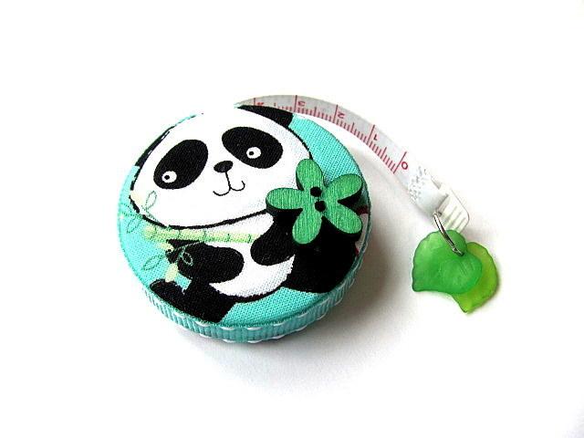 Measuring Tape Giant Pandas  Retractable Tape Measure