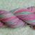 Hand Spun Yarn Merino/Targhee Wool DK/Sports Weight 115 yards Hand Dyed Yarn
