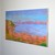 Original Acrylic Landscape painting, canvas wall art, colourful art by Paul