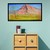 """Landscape painting, Canvas wall art by Paul Manwaring, """" The Mountain and the"""