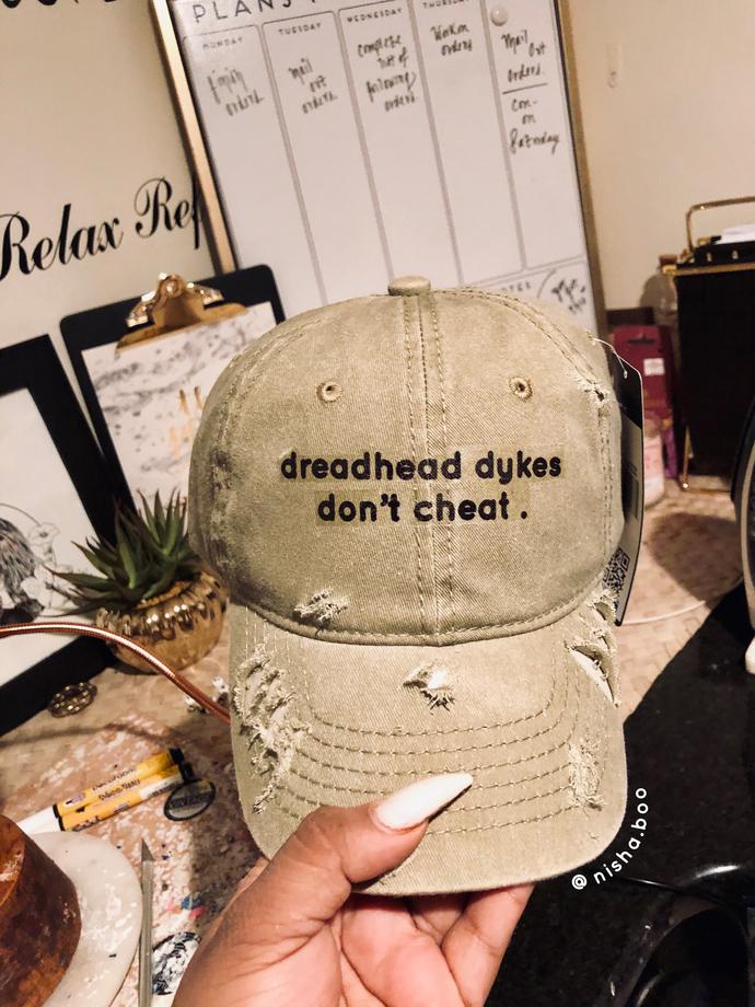 Dreadhead Dyke Baseball Cap