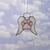 Stained Glass, Dog Paw Ornament, Pet Memorial Gift, Pet Loss Keepsake, Dog