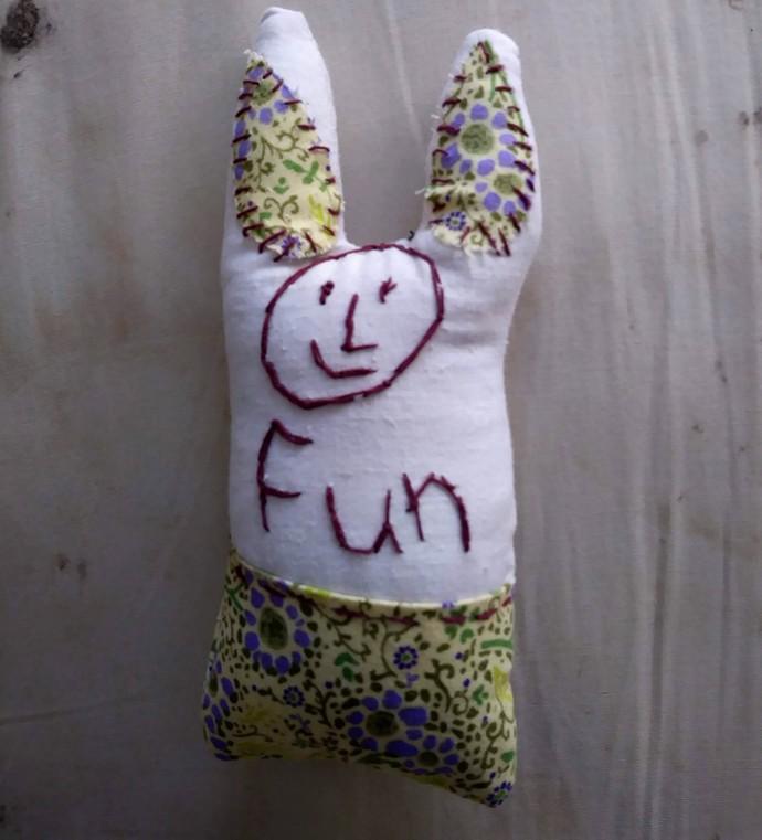 Fabric Fun Bunny