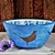 Decorative bowl, Fruit bowl, The Fox and Pheasant, hand painted ceramic bowl