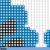 Bright Sugar Skull | Digital Download | Mandala Cross Stitch Pattern |