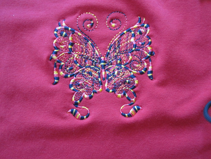 Ladies Embroidered tee-Shirt