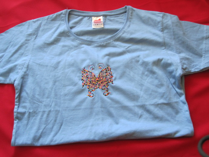 Ladies Light Blue Tee-Shirt