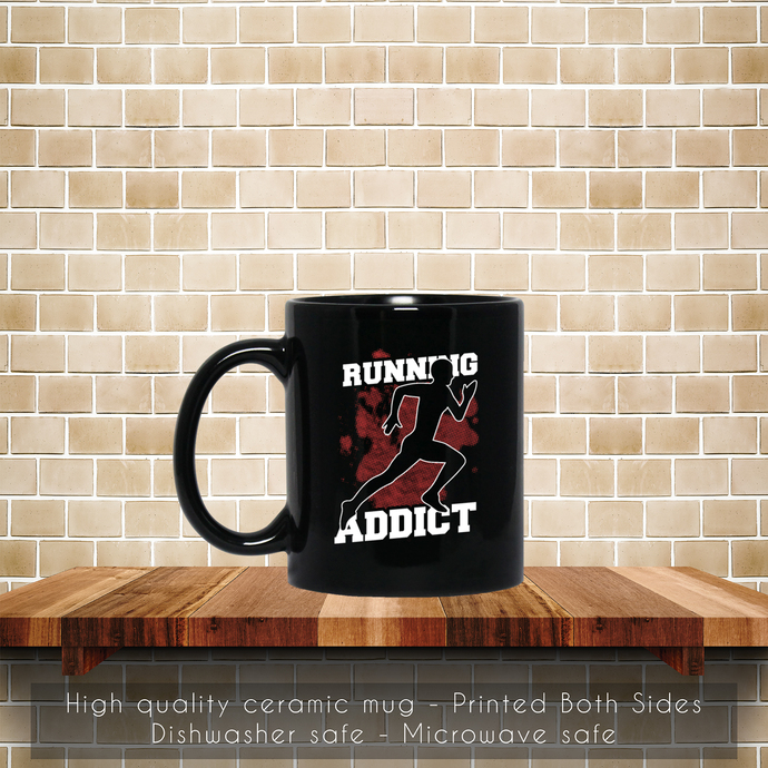 Running Sport Addict Coffee Mug, Sport Addict, Tea Mug, Sport Addict Mug, Coffee