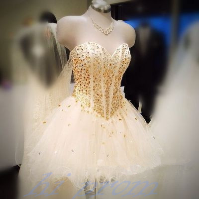 White Homecoming Dress,Short Prom Gown,Tulle Homecoming Gowns,Princess Party