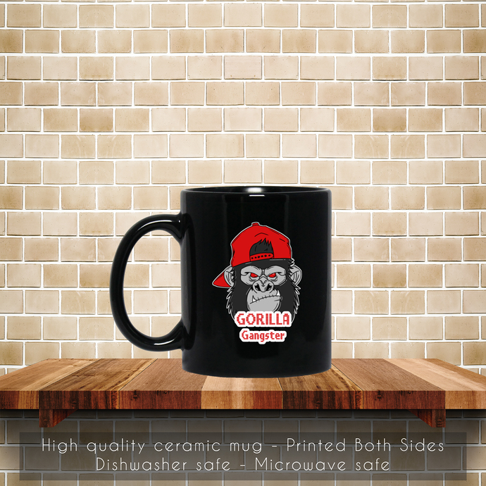 Gorilla Gangster Coffee Mug, Gorilla Gangster Mug, Tea Mug, Gorilla Mug, Coffee