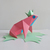 DIY Frog sitting on leaf,digital download,papercraft frog,paper