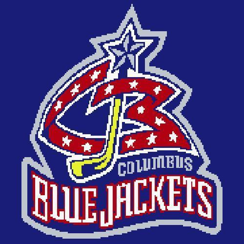 Columbus Blue Jackets Crochet Pattern  (Graph, SC, C2C, Bobble stitch, Tunisian)