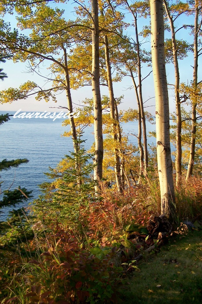 8x10 print, original photography, Autumn on Lake Superior, Lake Superior print,