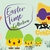 Happy Easter Collection Easter Bunny Egg Saying Chicken Chick Pirate Set Cut