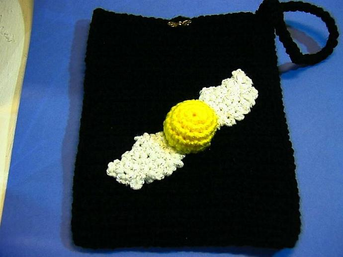 Harry Potter Golden Snitch Bag- cozy for your KINDLE or use it as a wristlet