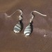 Lovely Tear Drop Silk Stone Earrings 8093