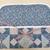 Fabric folder, Fabric organizer, Quilted fabric folder, Denim and pink patchwork