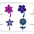 Flower Machine Embroidery Design Flowers Floral Valentines Day Mothers Day 5