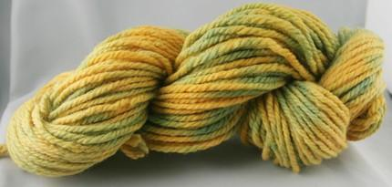 Golden Rod - hand dyed yarn