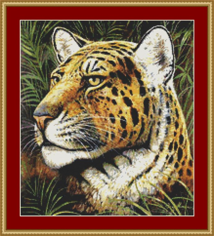 Spotted Beauty Cross Stitch Pattern - Instant Downloadable Digital Pattern