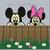 Peeking Mickey & Minnie Throw