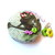 Tape Measure with Watering Can and Flowers Retractable Measuring Tape
